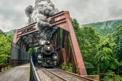 The 425 in the Lehigh Gorge