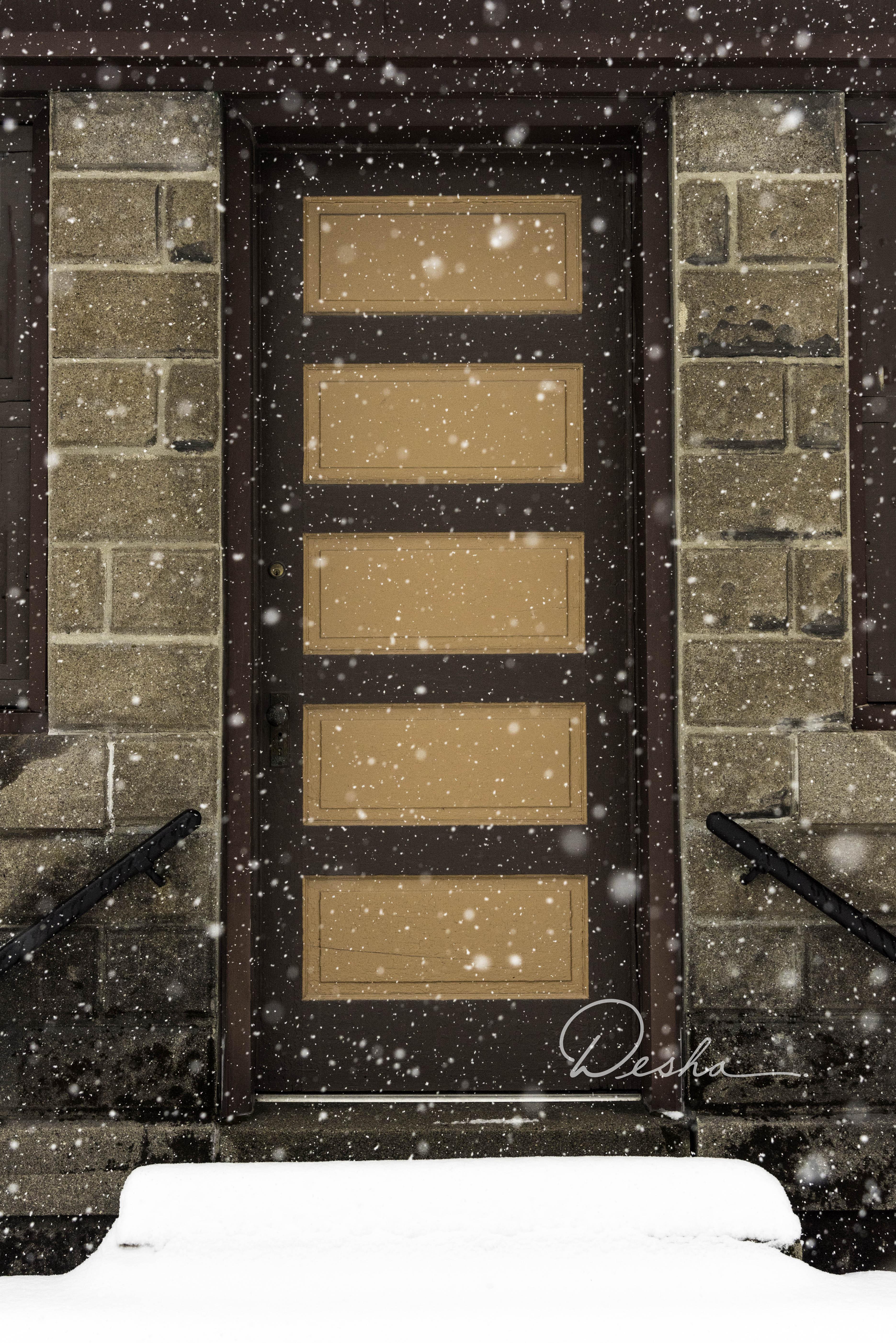 Door in Cemetary