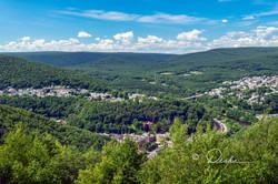 Summer View of Jim Thorpe