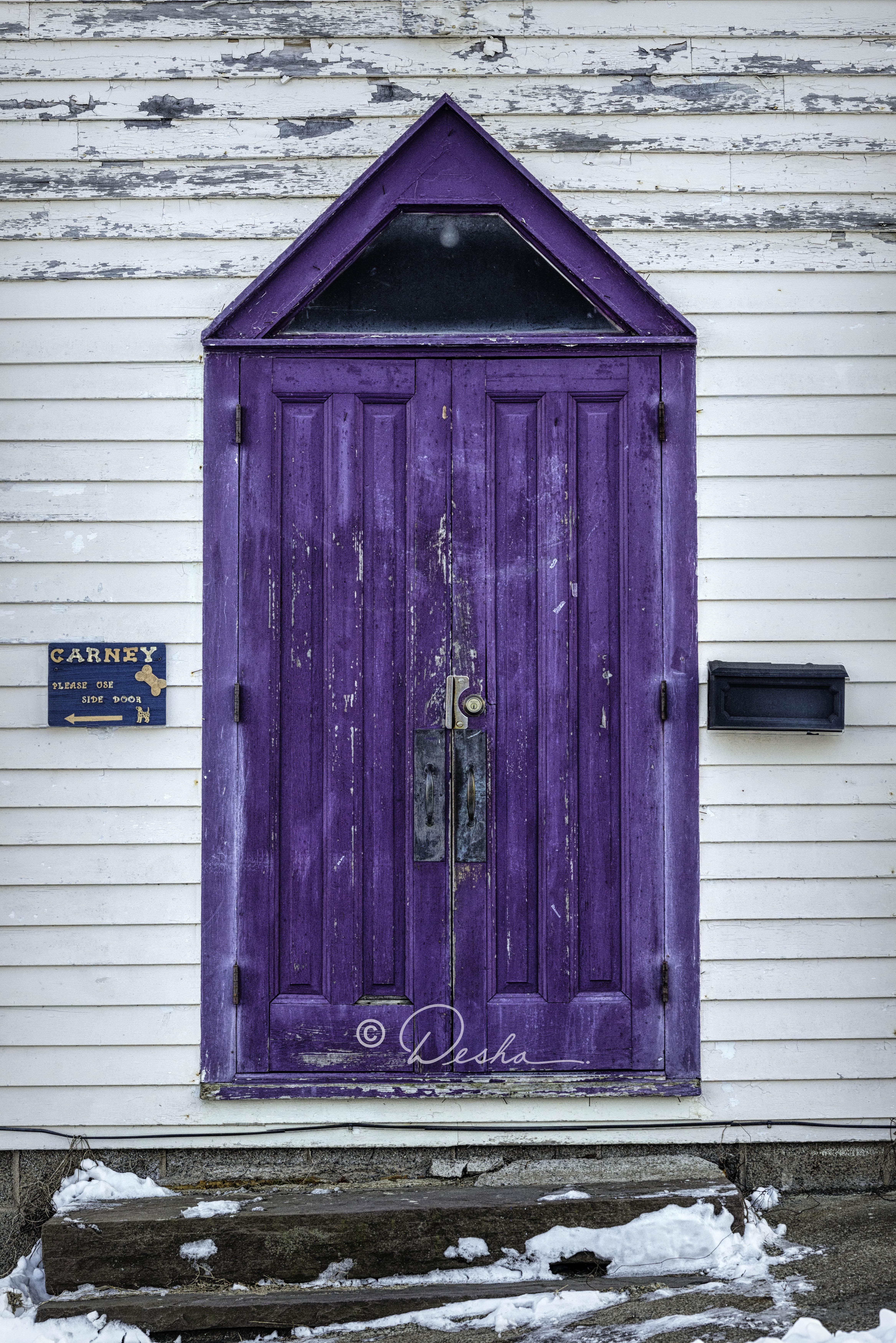 Purple Door in White Haven