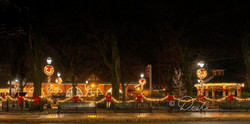 Josiah White Park at Christmas