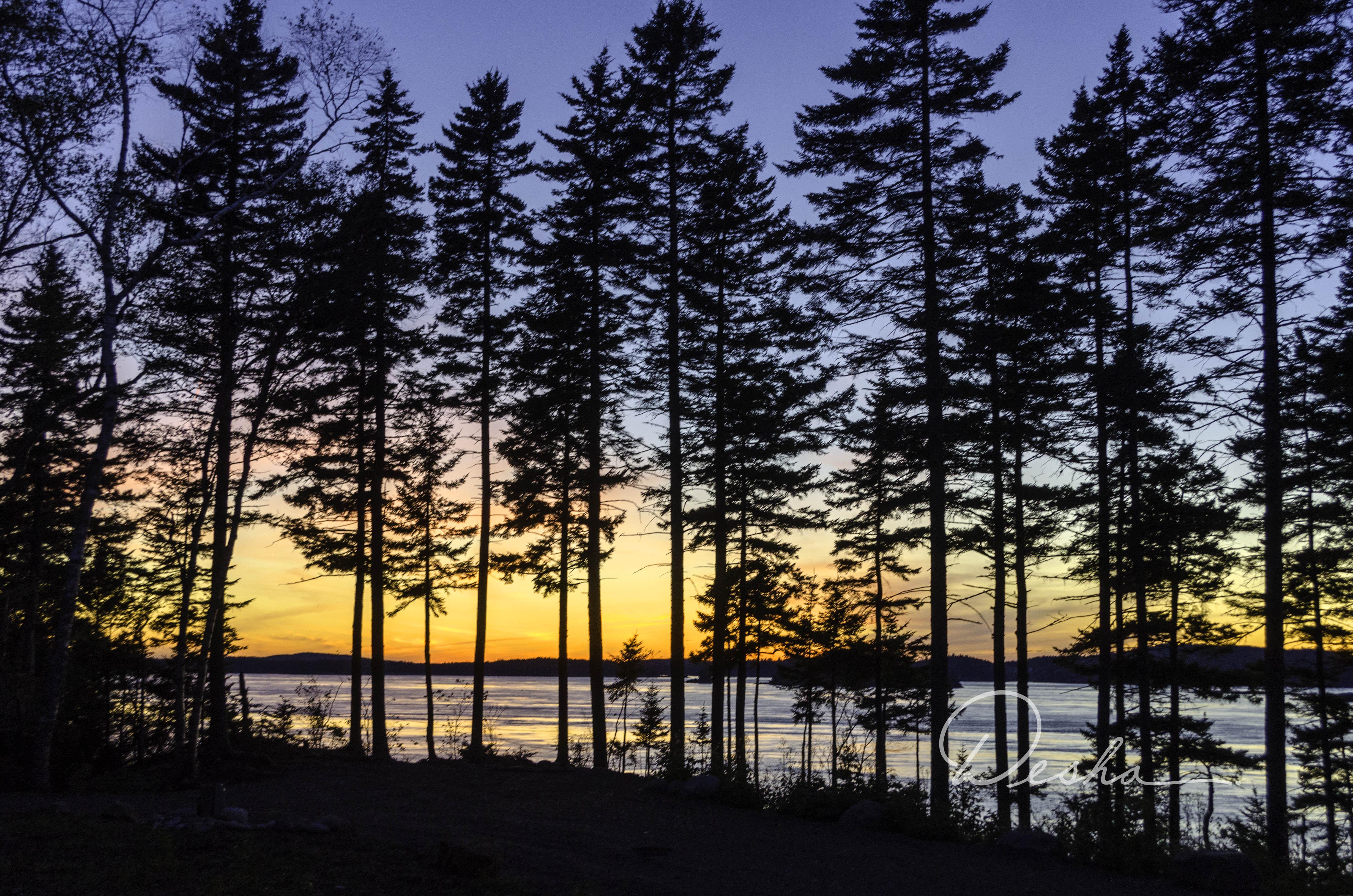 Sunset, New Brunswick, Canada