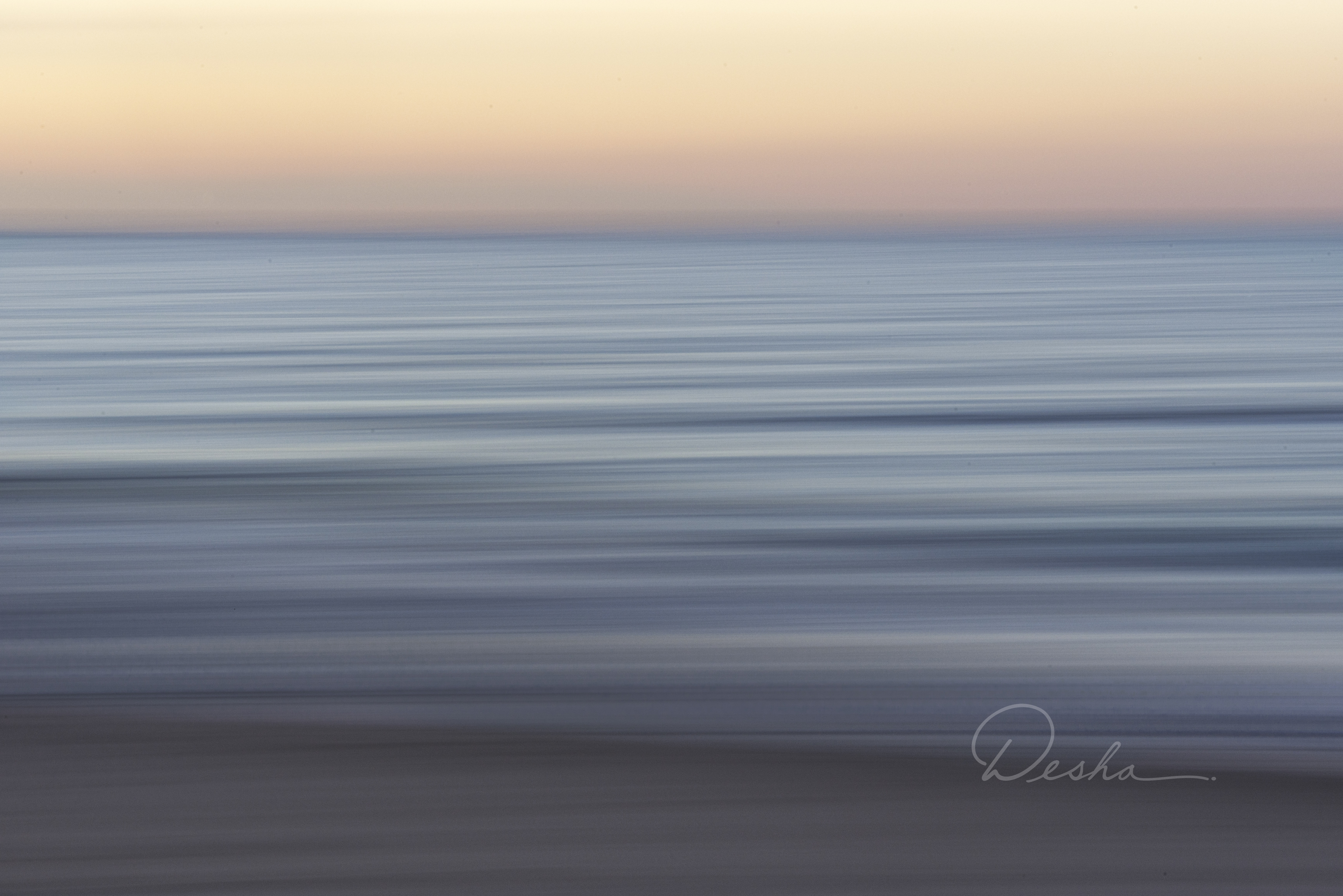 Sunset Abstract from Rexhame Beach