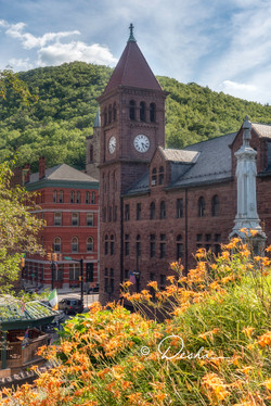 Summer in Downtown Jim Thorpe, PA