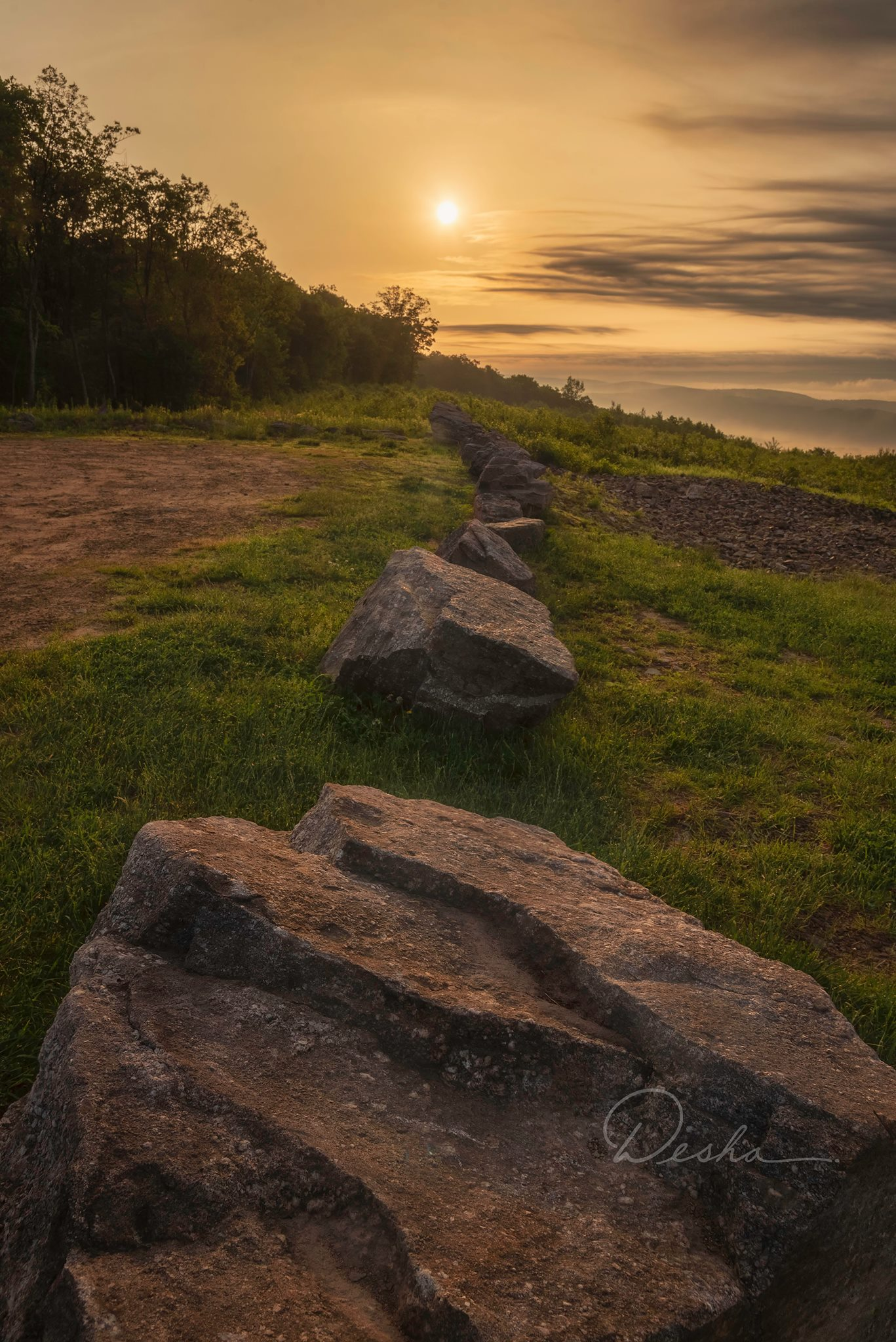 Sunrise 100 Mile View, Jim Thorpe