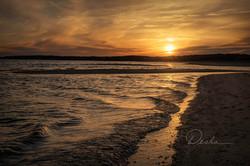 Sunset at Hardings Beach, Cape Cod