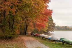 Mauch Chunk Lake in Jim Thorpe, PA