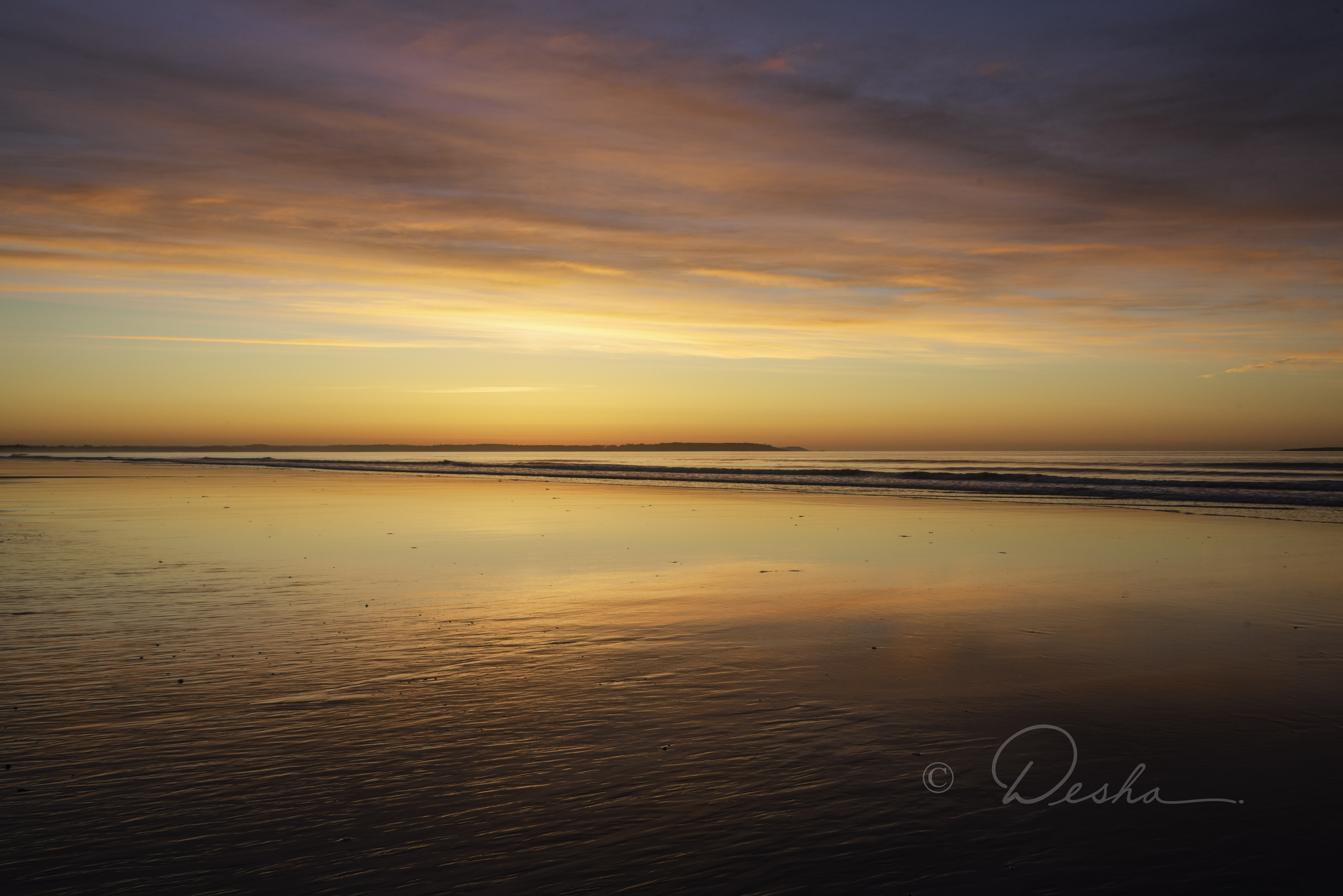 Sunrise, Old Orchard Beach, Maine