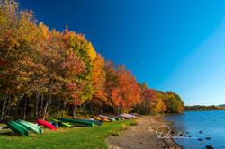 Autumn, Lake & Boats