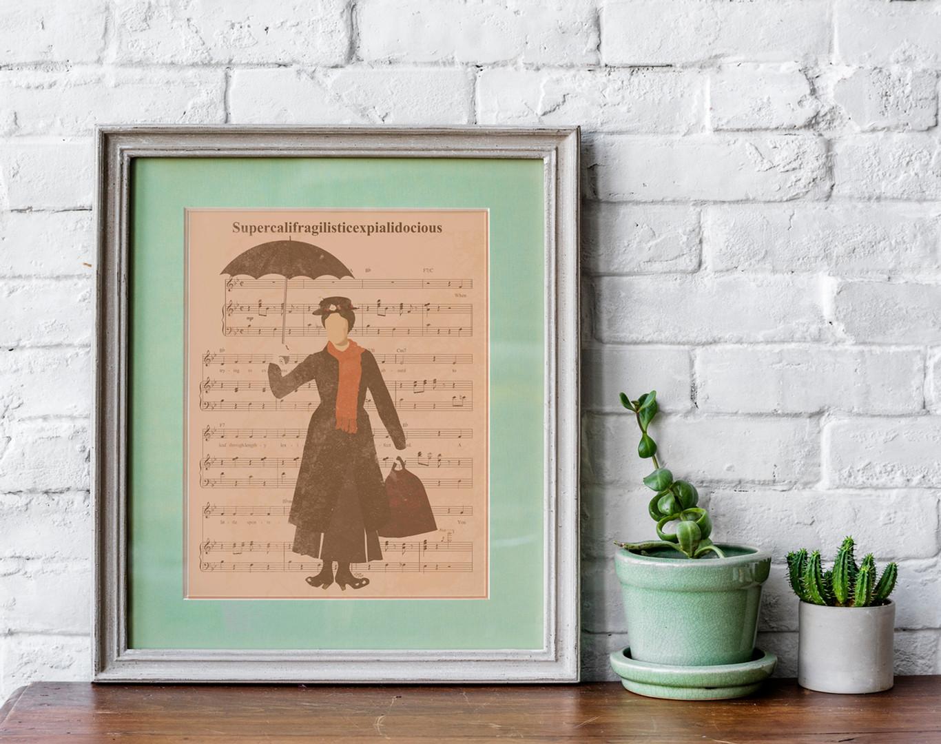 Custom Sheet Music Art