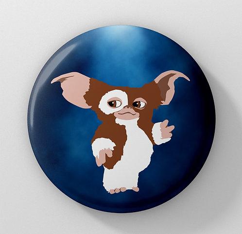 Gremlins - Gizmo the Mogwai Button Badge