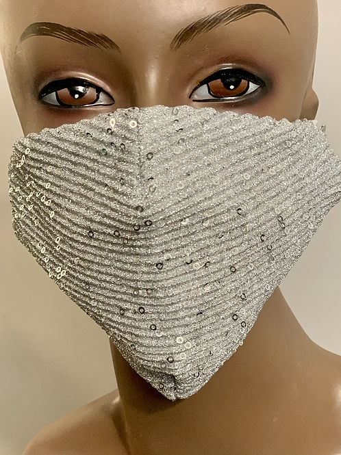 Platinum Sequence Bling Mask