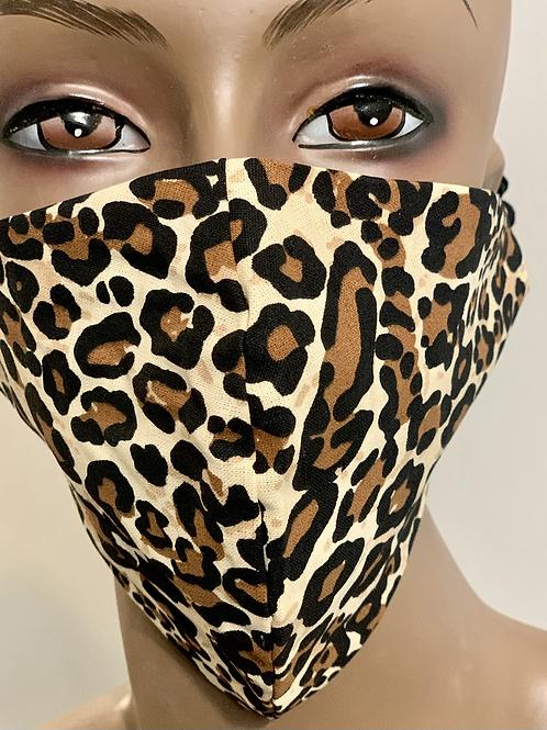 Classic Cheetah Print Mask