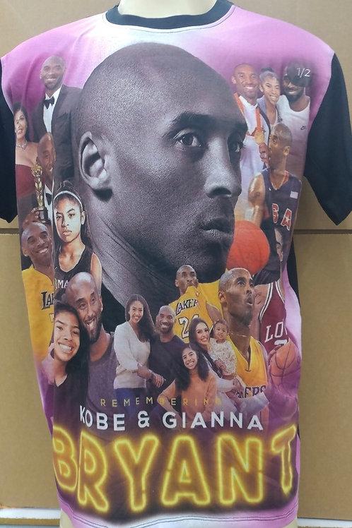 Remembering Kobe and Gianna Bryant Tshirt