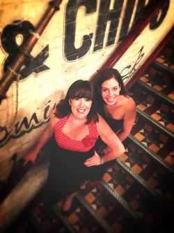Fliss & Lauren at Poppies