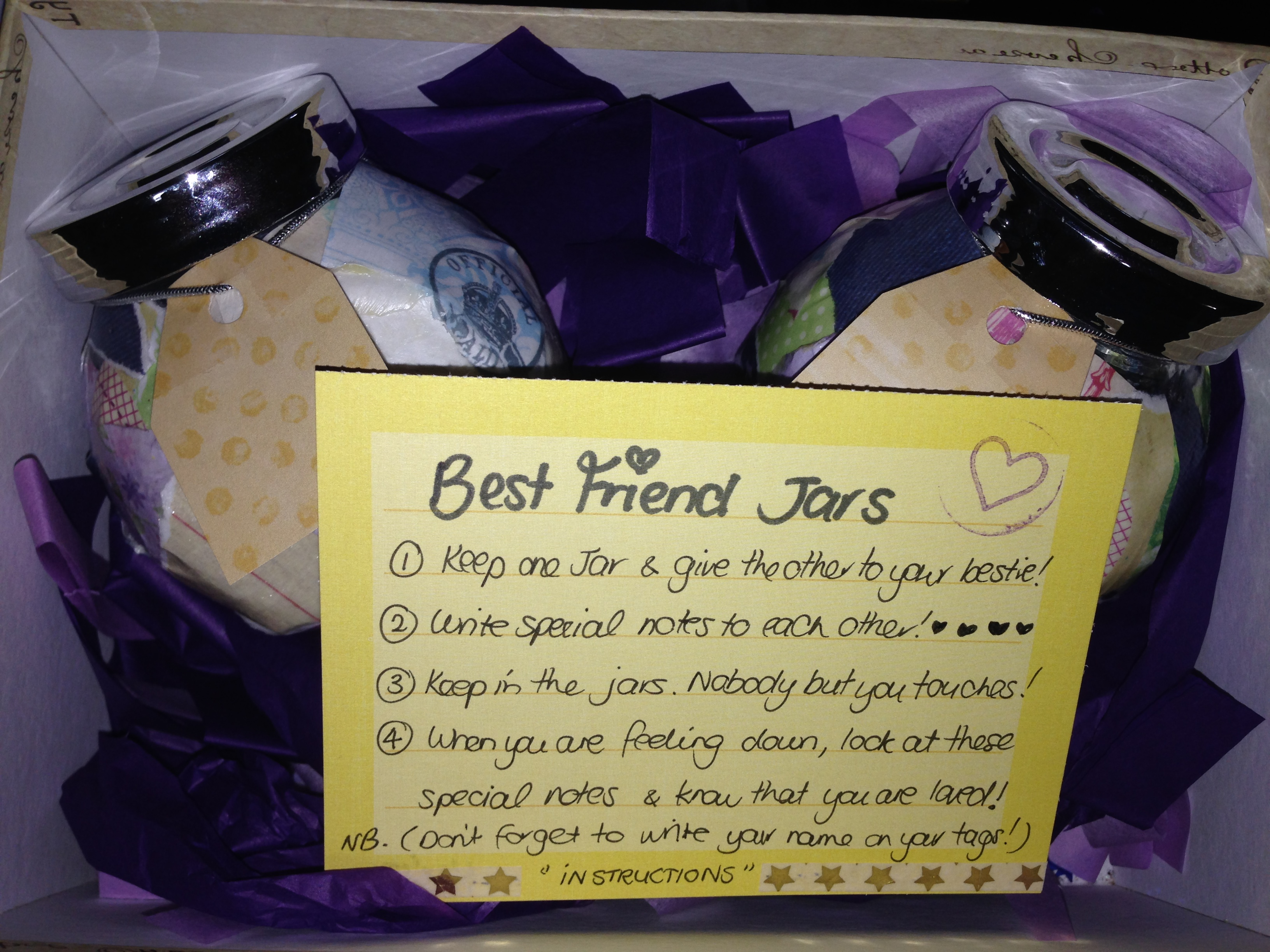 Best Friend Jars <3