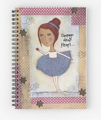 Designer Spiral Notebook