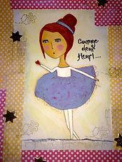 Courage Dear Heart Artwork