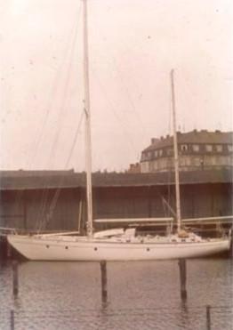 LIBRA IN THE BOATYARD 1969