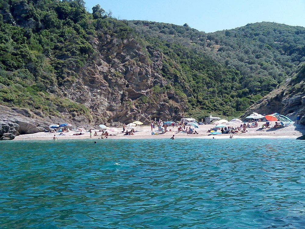 Η Παραλία Ποτόκι στη Συκή, Φωτογραφία Δήμος Κουκουμβρής