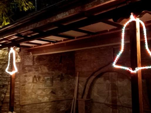 Προετοιμασίες και Χριστουγεννιάτικοι στολισμοί  στη Συκή!