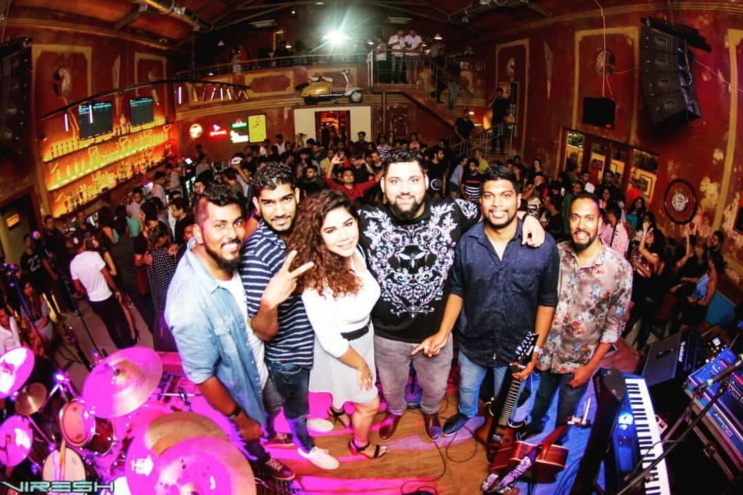 Post show pic at Showbar