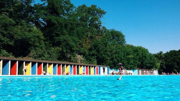 National Lottery funded project restores Tooting Bec Lido's historic landmark features