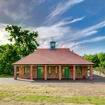 The Woodfield pavilion after the restoration