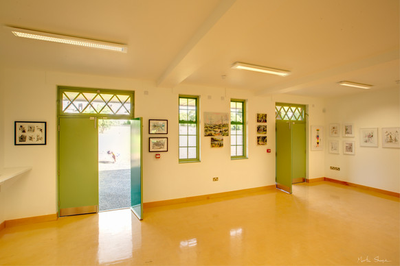 The Woodfield pavilion - ground floor