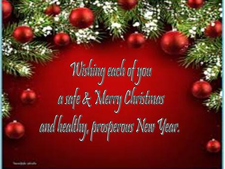Happy Holidays & Goodbye 2020!
