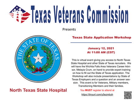 Texas State Agency Application Workshop
