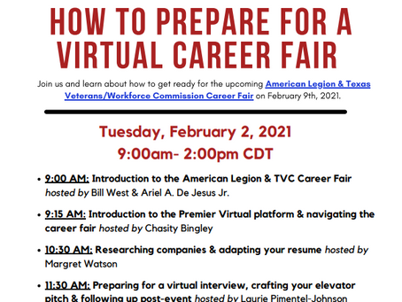 How to Prepare for a Virtual Career Fair - Free Online Workshop