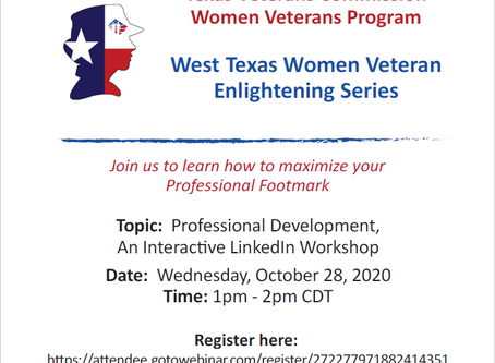 Women Veterans LinkedIn Workshop
