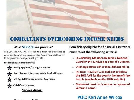 Grants for Veterans Needs