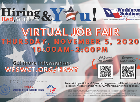 9th Annual Texas Red, White & You Veterans Job Fair