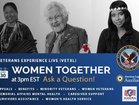 VA to host live virtual event on women veteran issues - June 30th