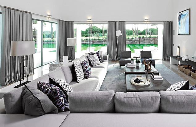 Estilo moderno bom para ambientes pequenos e grandes for Design moderno