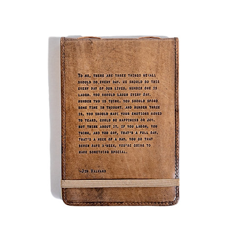 Large Jim Valvano Leather Journal