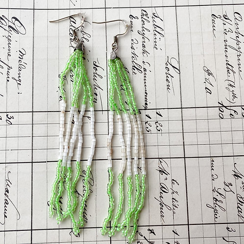 Vintage Boho Beaded Earrings