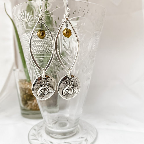 Bee Assemblage Earrings
