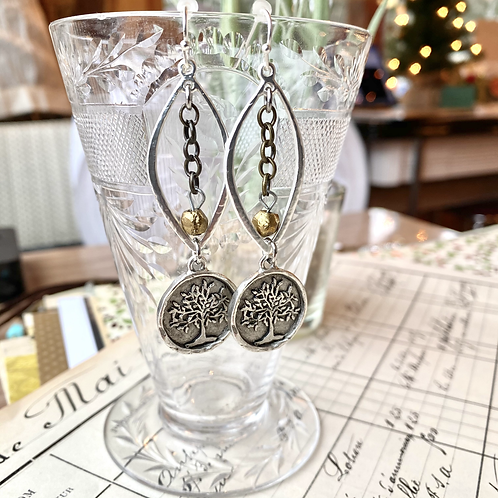 Tree of Life Assemblage Earrings
