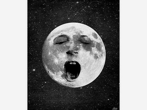 Lazy Old Moon Archival Print