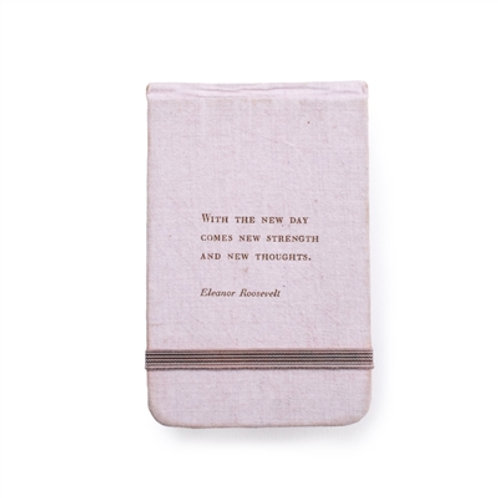 Eleanor Roosevelt Fabric Notebook