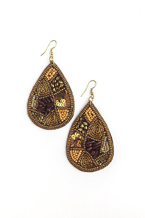 Fair Anita Mosaic Drop Earrings