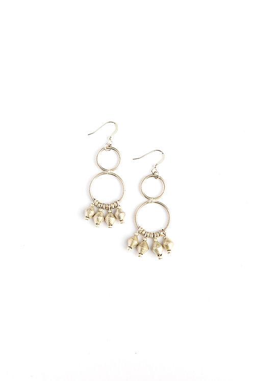 Fair Anita Comet Dangle Earrings