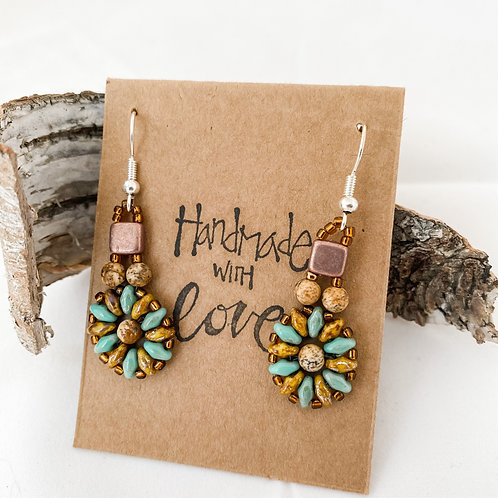 Handmade With Love Beaded Earrings