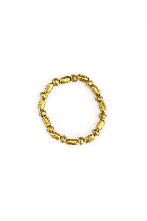 Fair Anita Gold Shell Bracelet
