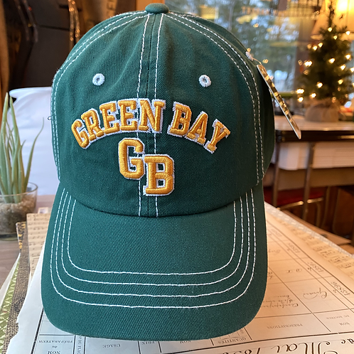 Green Bay Wisconsin Canvas Cap