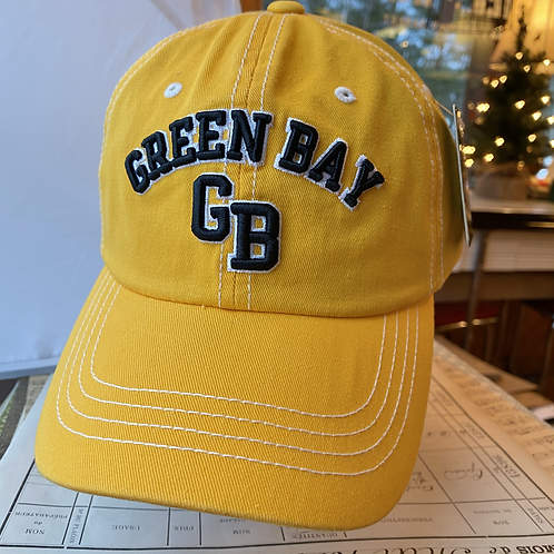 Green Bay Wisconsin Canvas Cap