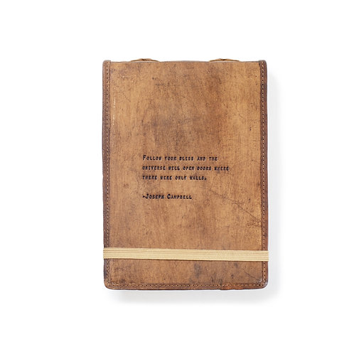 Large Joseph Campbell Leather Journal